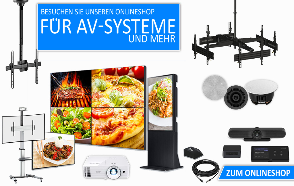 OnlineShop-AV-System-Video-Konferenzsystem-Beamer-Webshop-WeDoDs
