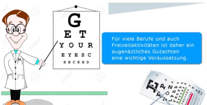 Wartezimmer-TV-Digital-Signage-Praxis-Leistung-Augekontrolle
