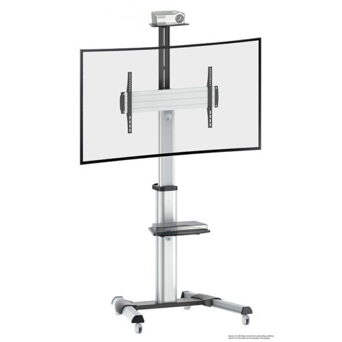 TV-Staender-Standfuss-neigbar-schwenkbar-Digital-Signage